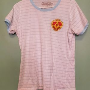 Sailor Moon Ringer Tee